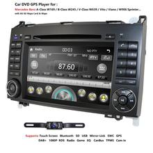 Ossuret Car In Dash DVD Player For Mercedes-Benz W169 A150/A160/A170/A180/A200 W245 B160/B170/B180/B200 W639 Vito/Viano GPS Navi