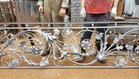 Hench 100% handmade forged custom designs wrought iron porch railing designs