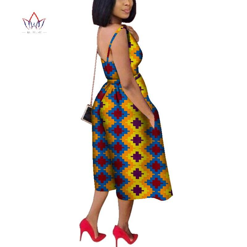 Mono de mujer 2020 de talla grande África algodón Impresión de cera Romper Bazin Riche Sexy mono Dashiki elegante África ropa WY4373