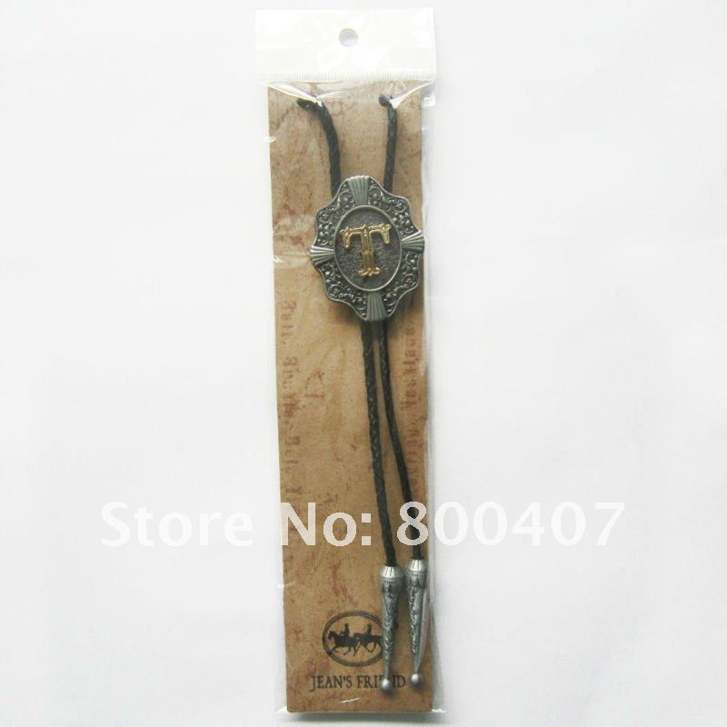 Brand New Retail Western Original Letter T New Bolo Tie Factory Direct Free Shipping BOLOTIE-WT078T
