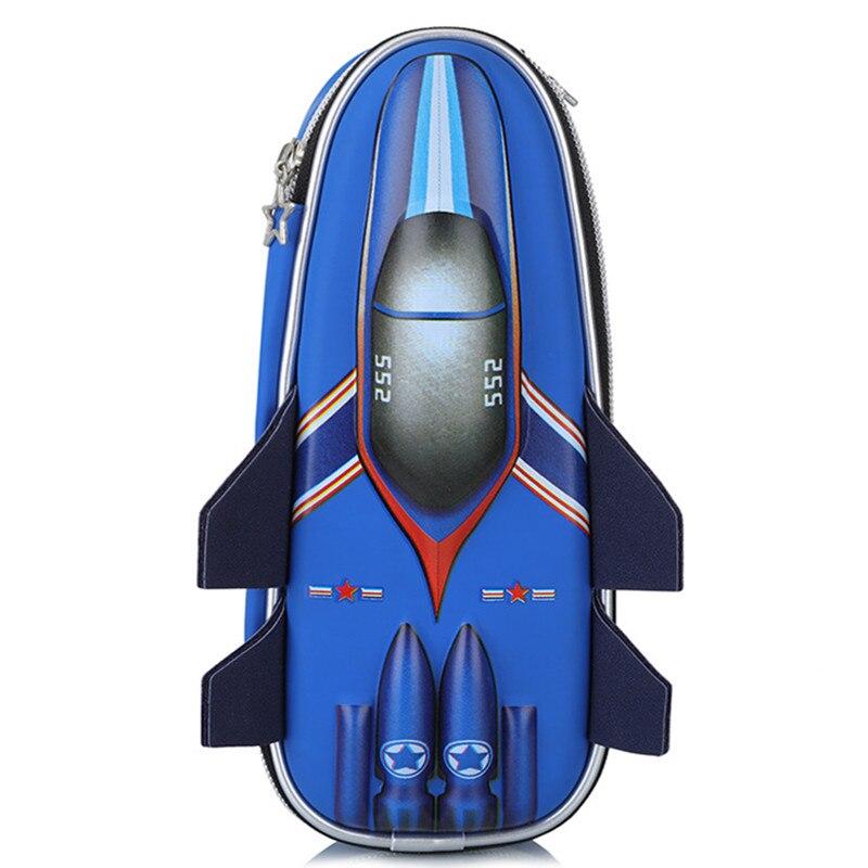 EVA авиационный пенал для мальчика, Большой Вместительный милый школьный пенал, высококачественный пенал для ручек, сумочка для ручек, синий и серый цвета в наличии