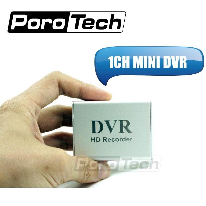 1CH MINI DVR X-box 1Ch 1 Canal CCTV DVR + Cartão SD HD DVR Xbox Real-time mini Gravador de Vídeo dvr Placa de Compressão de Vídeo