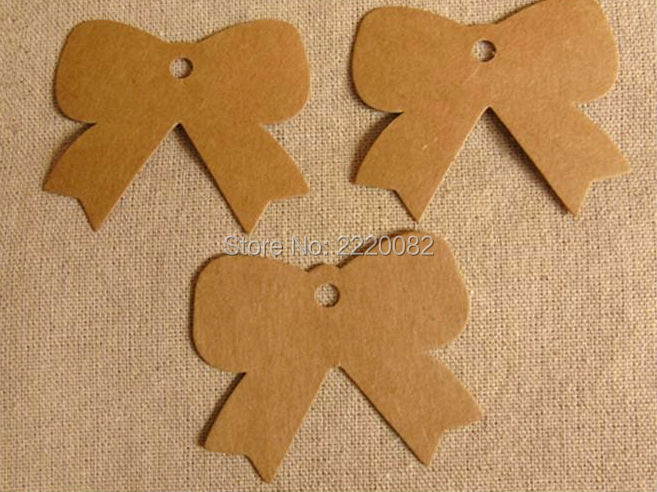 Envío Gratis en stock etiqueta en blanco 350gsm craft pape 6x5cm 300 Uds. ETIQUETA DE REGALO/etiqueta colgante de tarjeta de papel/etiqueta de forma bonita