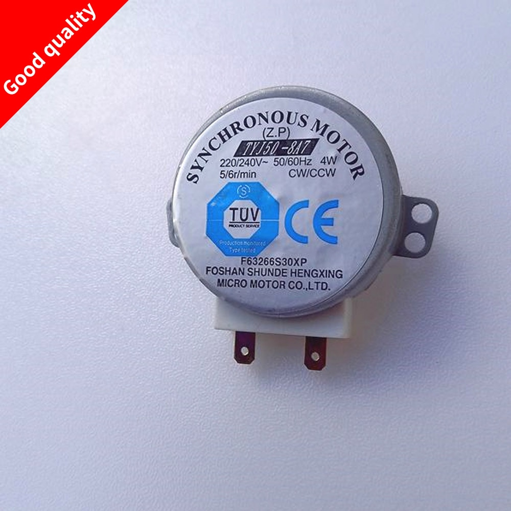 AliExpress - AC 220-240V 4W 6RPM 48mm Dia Micro Synchronous Motor for Warm Air Blower 50/60Hz CW/CCW TYJ50-8A7 microwave oven tray motor