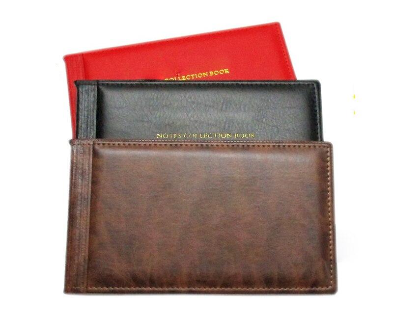 Фотоальбом на 30 страниц, бумажный альбом для банкнот, с кармашком для хранения монет