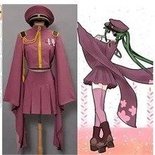 Vocaloid Hatsune Miku Senbonzakura Uniforme Del Kimono Del Vestito Costumi di Cosplay del Anime Figura Intera donne di età set parrucca