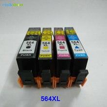Совместимый картридж для принтера einkstore, 564 сменный картридж для hp 564 xl для фотостудии 5510 5511 5512 5514 5515 5520 5525 6520