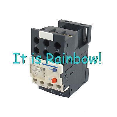 3 P Thermischer Motorschutzrelais w LAD7B106 Block Basis 0,1-0,16A-0,25-0.4A-0,63-1.7A-1,6-2.5A-6A 5,5-8A 7-10A 9-13A 12-18A 16-24A