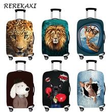 Valise housse de bagage Animal élastique bagages poussière housses de protection housse de coffre pour 18-32 pouces chariot accessoires de voyage