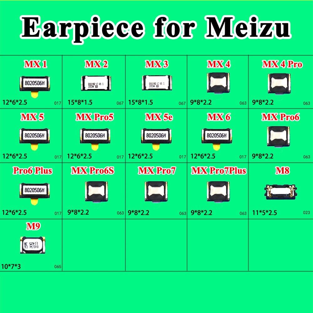 Conector de auricular cltgxdd 2x para MEIZU MX1 MX2 MX3 MX4 MX5 Pro5 pro6 6S Plus pro7 Plus M8 m9 reparación y reemplazo