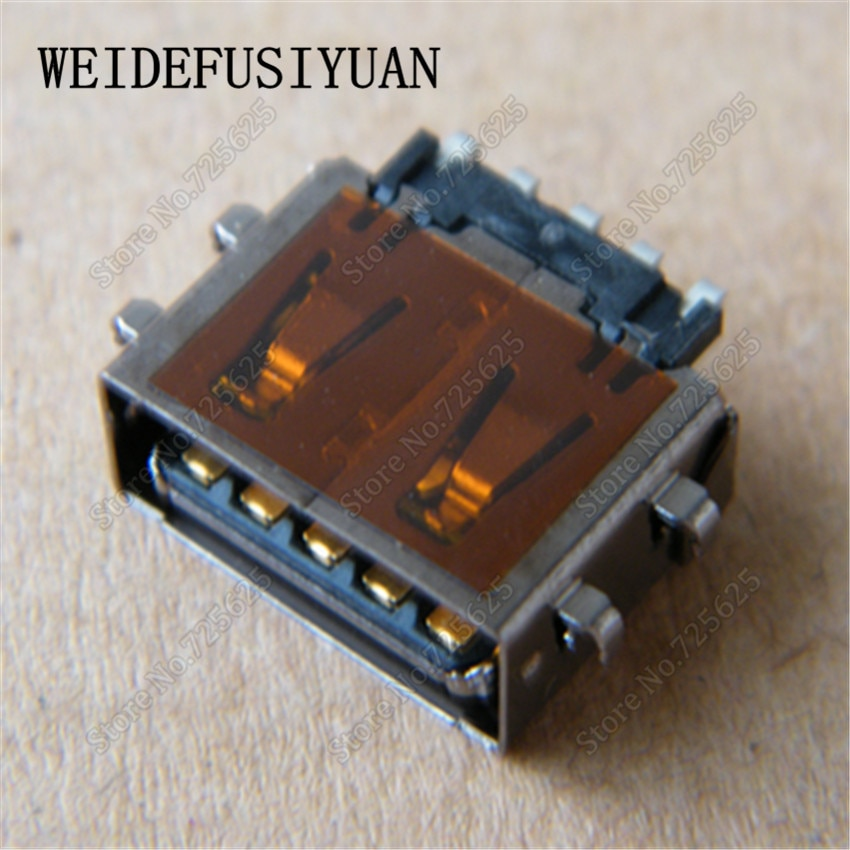12mm Plugue Porta do Conector USB 3.0 Feminino Jack Tipo-A 90 graus DIP 9 pinos