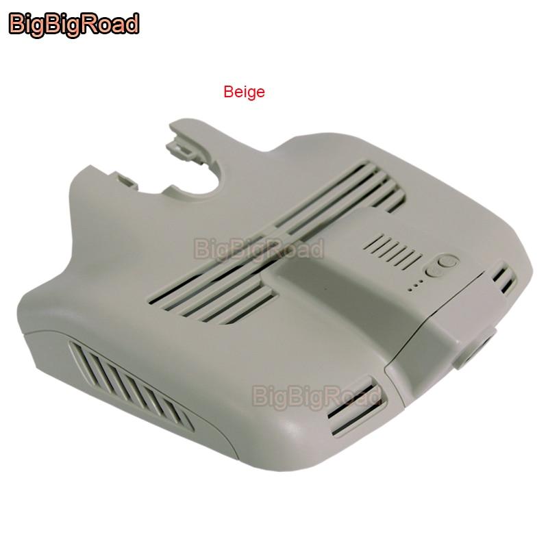 BigBigRoad para Mercedes-Benz C200 C260/GLC 260/300/C GLC clase W204 W205 260 grabadora de vídeo de coche wifi para coche DVR cámara de salpicadero