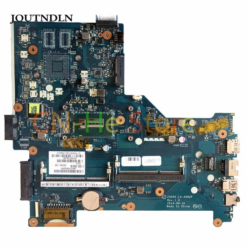JOUTNDLN ل HP بافيليون 15-R اللوحة المحمول ZSO50 LA-A992P DDR3L 784567-501 784567-001 الرسومات المتكاملة ث/I7-4510U وحدة المعالجة المركزية