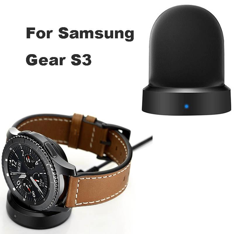 Reloj inteligente Dock Cable USB inalámbrico cargador para Samsung Galaxy 42 46mm Base de carga para Galaxy Gear S2 S3