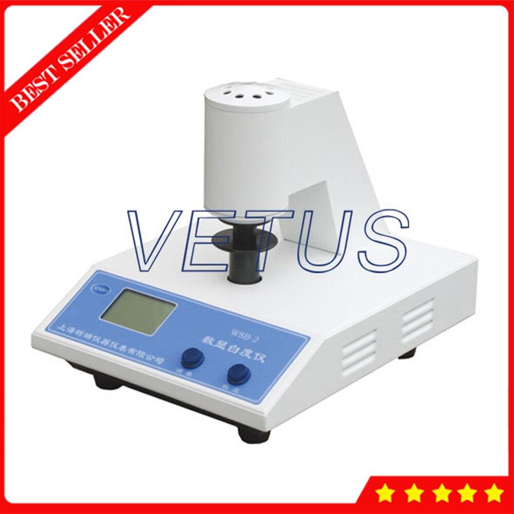 Desktop Fluorescent whiteness meter white colour Tester WSB-2C WSB2C