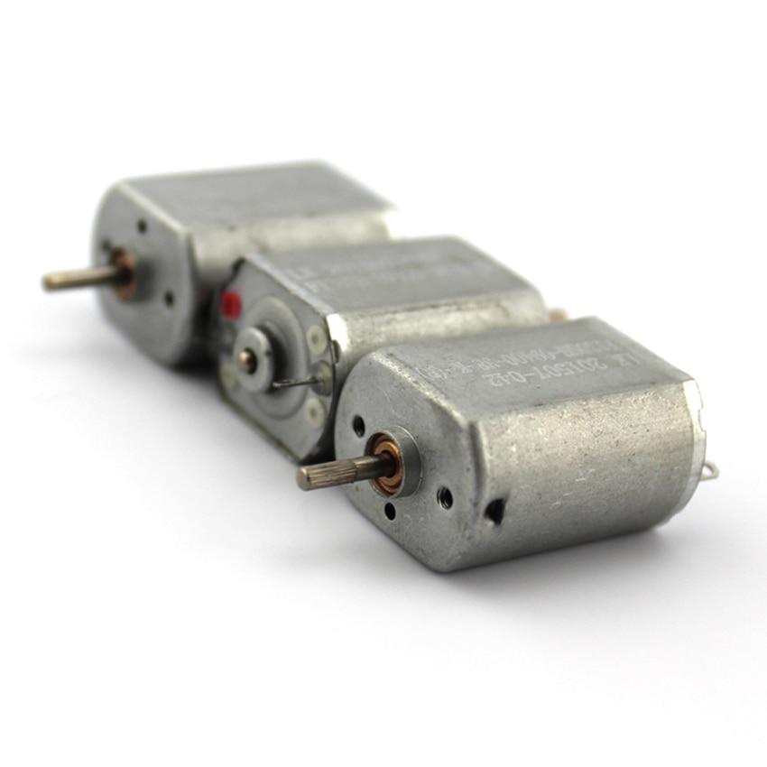 1 шт. 130 микро двигатель постоянного тока с диагональю экрана 3 6V железа задняя