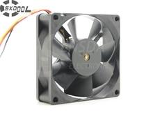 SXDOOL G8025S12B2 Pour HLT5076 HLT5676 HLT6176 HLS4676 HLT5087 HLR6167 8025 12 V 0.120A silencieux ventilateur de refroidissement