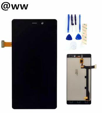 Negro/blanco para Allview x1 soul LCD pantalla con digitalizador de pantalla táctil montaje Smartphone reemplazo