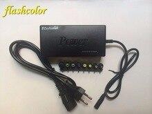 Flashcolor 110-220v ca à cc 12V/15V/16V/18V/19V/20V/24V adaptateur pour chargeur PC portable 96W chargeur universel pour ordinateur portable