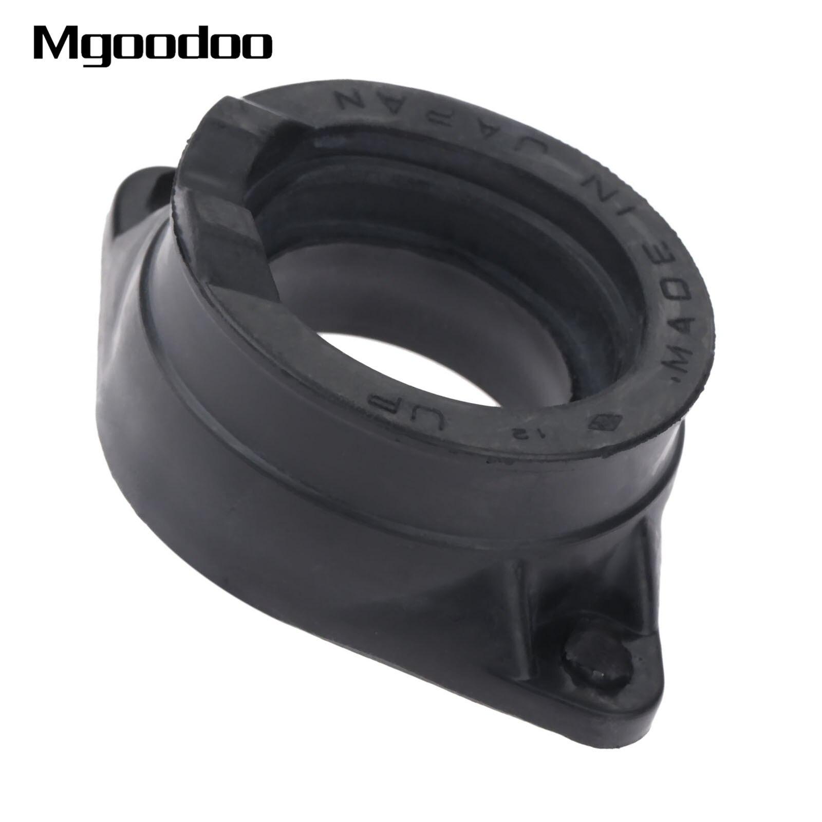 La interfaz de colector de carburador tubo de entrada adaptador pegamento de conector de aislante para Suzuki GN250 DR250 TU250 SP250