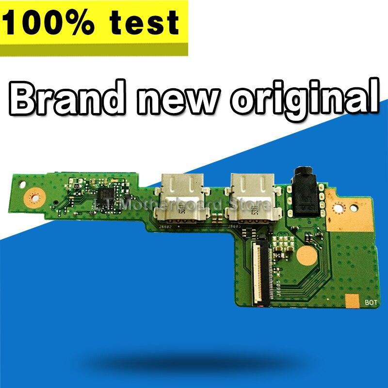 Nuevo Original para ASUS k401uq_yo_bd k401lb_yo_bd para K401L K401LB K401U K401UQ K401UB AUDIO POWER BOTTON tarjeta SD