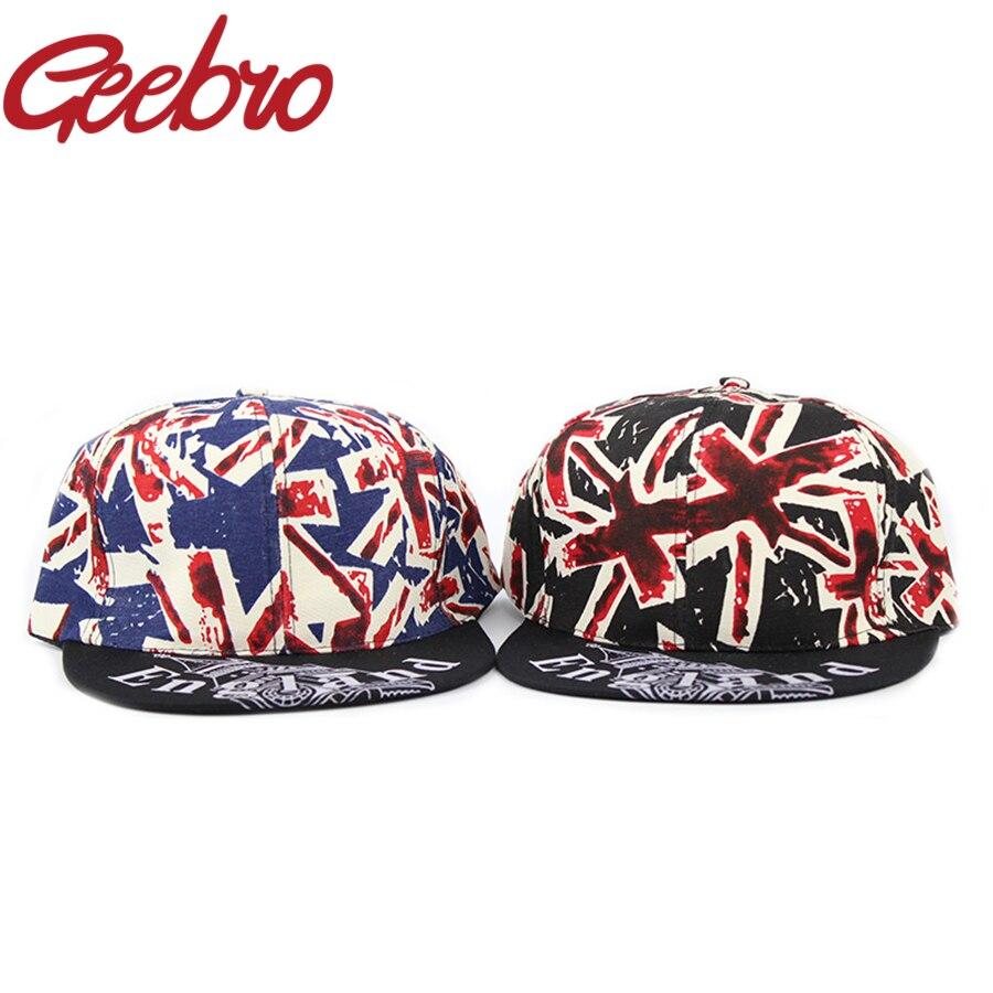 Estilo novedoso Inglaterra Bandera de gorra de béisbol jóvenes Hip-Hop Skate gorras hueso Big Ben sombrero para los hombres las mujeres JS066