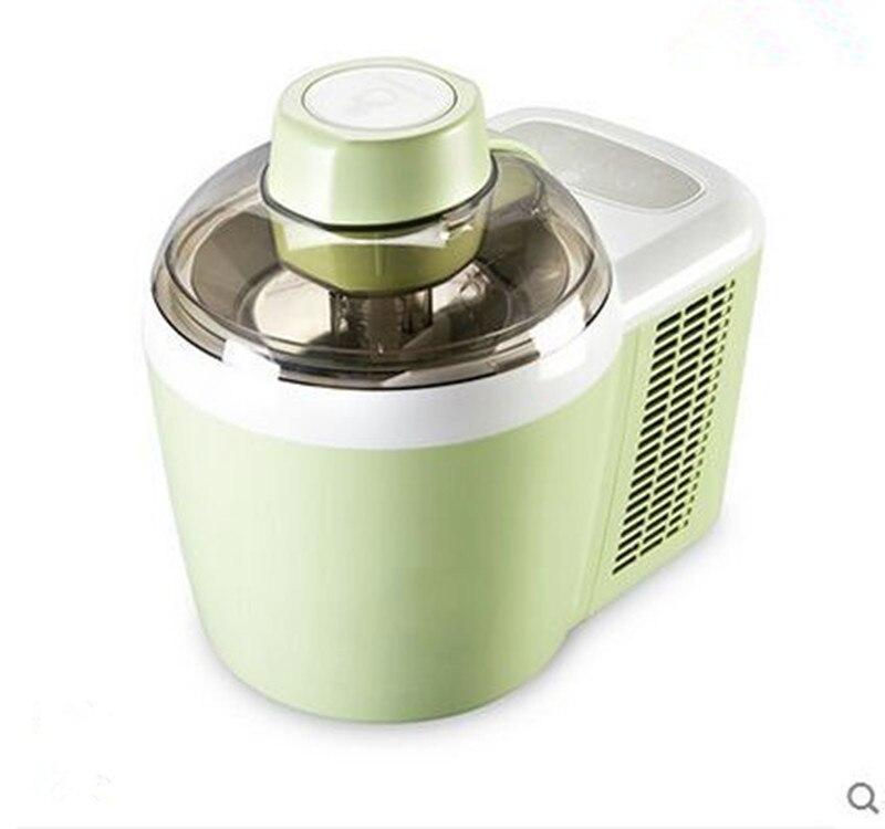 آلة الآيس كريم المنزلية ، التبريد التلقائي مع الآيس كريم الفاكهة