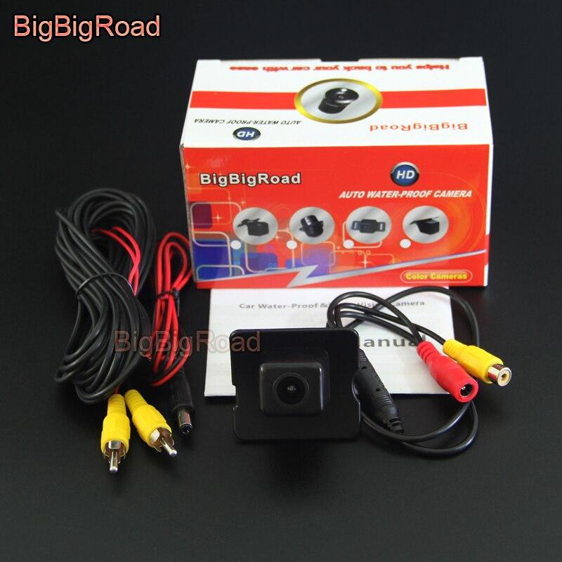 BigBigRoad cámara de Vista trasera de coche para Mercedes Benz M ML GL Clase R MB W164 X164 W251 280 de 300 a 350 450 de 500 de cámara de estacionamiento