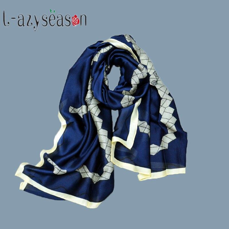Bufanda de seda de moda para mujer, chal largo y suave para mujer, bufandas hijab, bufandas con nuevo diseño impreso, echarpes foulards femme 180X90 CM