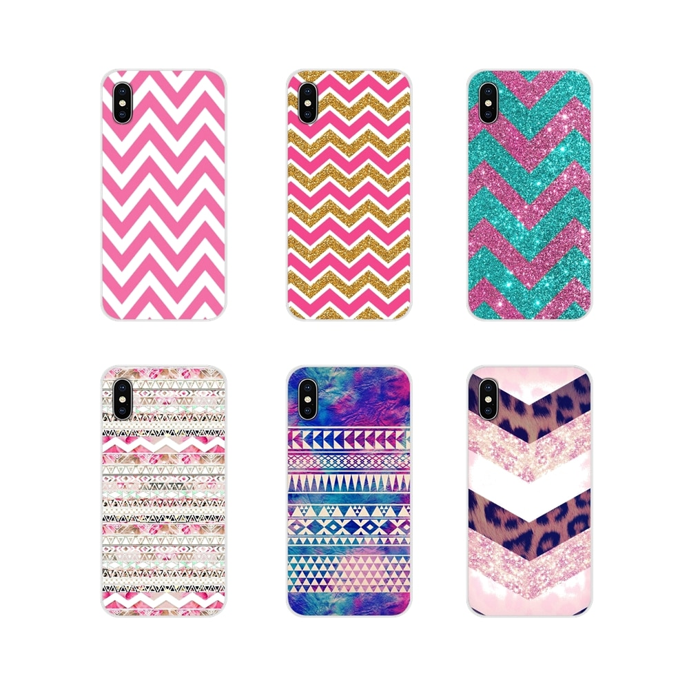 Para Motorola Moto X4 E4 E5 G5 G5S G6 Z Z2 Z3 G G2 G3 C Play Plus, accesorios, fundas de teléfono, cubiertas, texturas elegantes rosadas