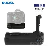 Meike MK-6D רב כוח חבילה מצלמה סוללה גריפ BG-E13 החלפת אנכי הסוללה עבור Canon EOS 6D