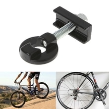 Fahrrad Kette Teller Spanner Verschluss Aluminium Legierung Bolzen Für BMX Fixie Bike Single speed Fahrrad Bolzen Schraube