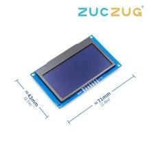 """Белый 2,42 """"2,42 дюймовый ЖК-экран 12864 OLED дисплей модуль IIC I2C SPI серийный для C51 STM32 SSD1309"""