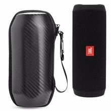 2018 nouveau haut Portable étui pour JBL Flip4 rabat 4 sans fil Bluetooth haut-parleur étui de protection EVA étui haute qualité en Fiber de carbone