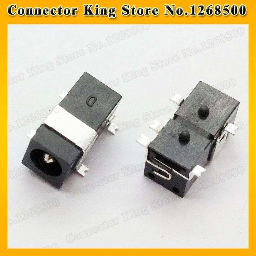 ChengHaoRan 1 pieza DC enchufe hembra SMD enchufe jack cargador potencia PCB soldadura 4,0mm X 1,7mm, DC-032