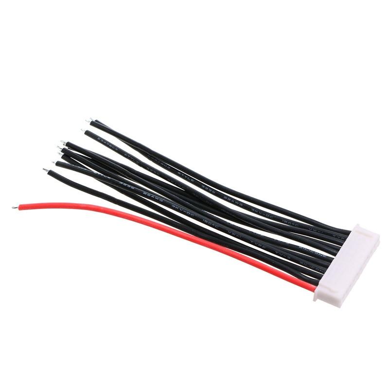 10S1P Lipo cargador de equilibrio de batería Cable de 22 AWG Alambre de JST XH enchufe 10CM-P101