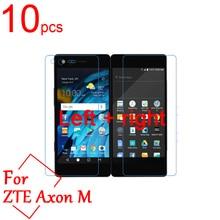 10pcs Ultra Clear/Matte/Nano Anti-Explosion For ZTE Axon M LCD Screen Protector Cover For ZTE Axon M Left +right Protective Film