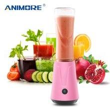 ANIMORE Portable électrique presse-agrumes mélangeur fruits bébé nourriture Milkshake mélangeur hachoir à viande multifonction jus fabricant Machine JU-02B