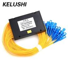 KELUSHI 1*16 PLC 광섬유 Cble 분배기 상자 유형 1x16 카세트 섬유 케이블 분기 장치 도매 가격