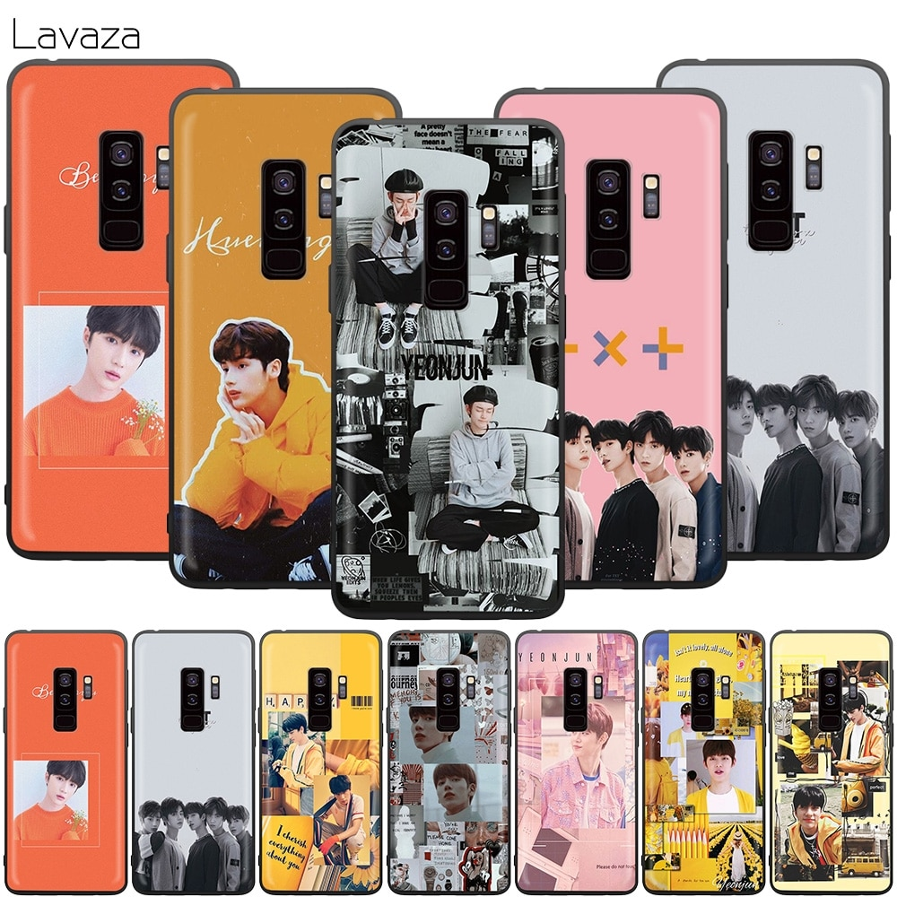 TXT TOMORROW X TOGETHER Case for Samsung Galaxy S20 S10 S9 S8 S7 S6 Plus Note 9 8 M30 M20 M10 Edge Lite Ultra