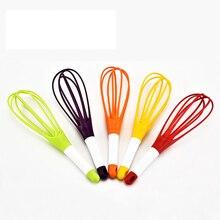 Multifunctional plastic manual egg beater whisk color random food grade PP egg tools 3pcs/lot random colour