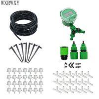 Automatic irrigation system DIY Gardening tool kit garden watering system misting Transparent dripper Vertical irrigation 1 set