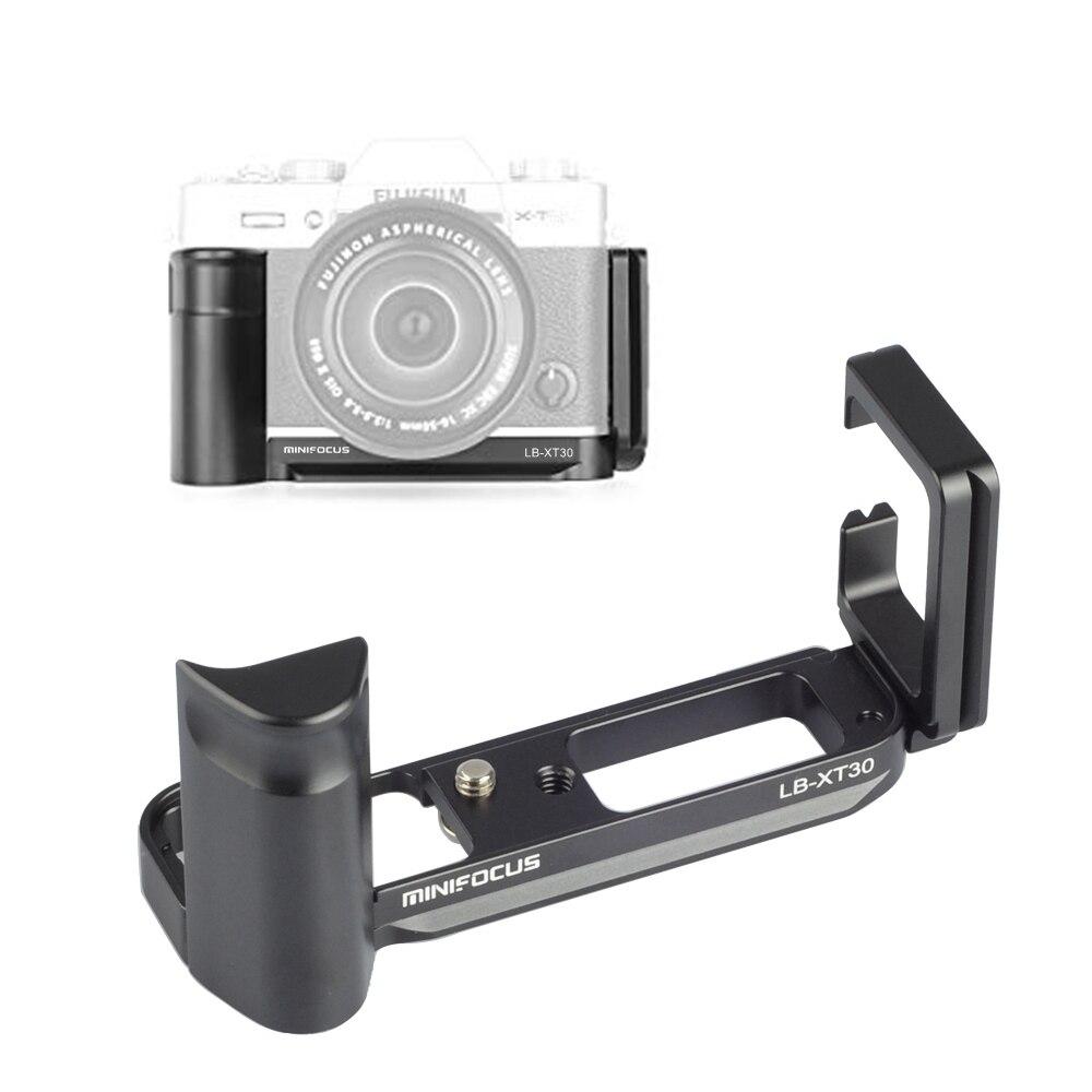 MINIFOCUS XT30 ручка с вертикальной съемкой рукоятка QR Quick Release L Пластина держатель для камеры Fuji Fujifilm X-T30 XT30 X T30