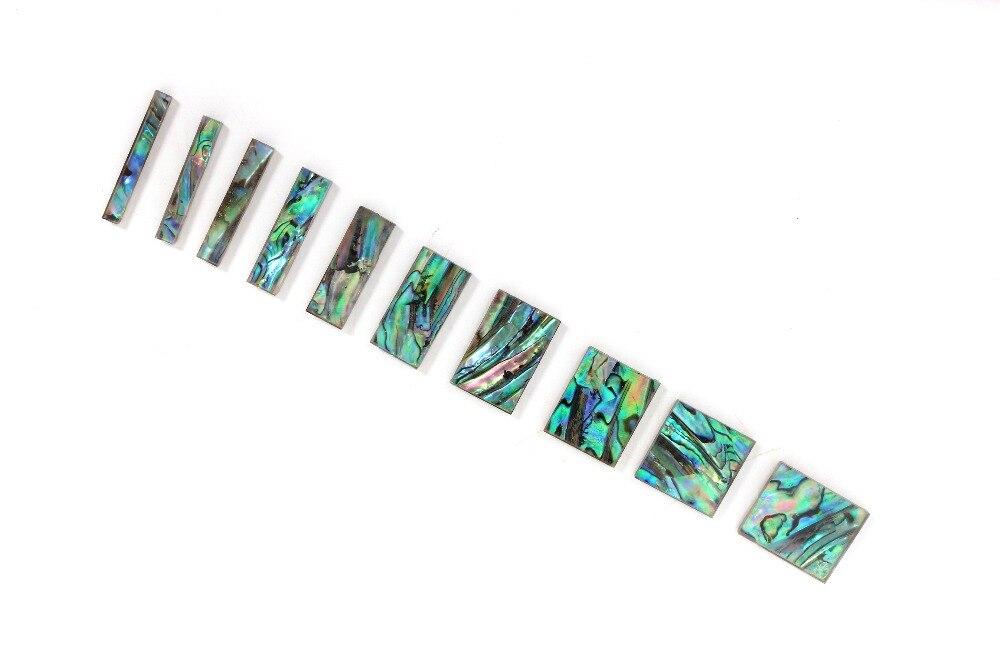 1 set (10 stuks) Elektrische Gitaar Fretboard Inlay Toets Haaienvin Voor Jackson