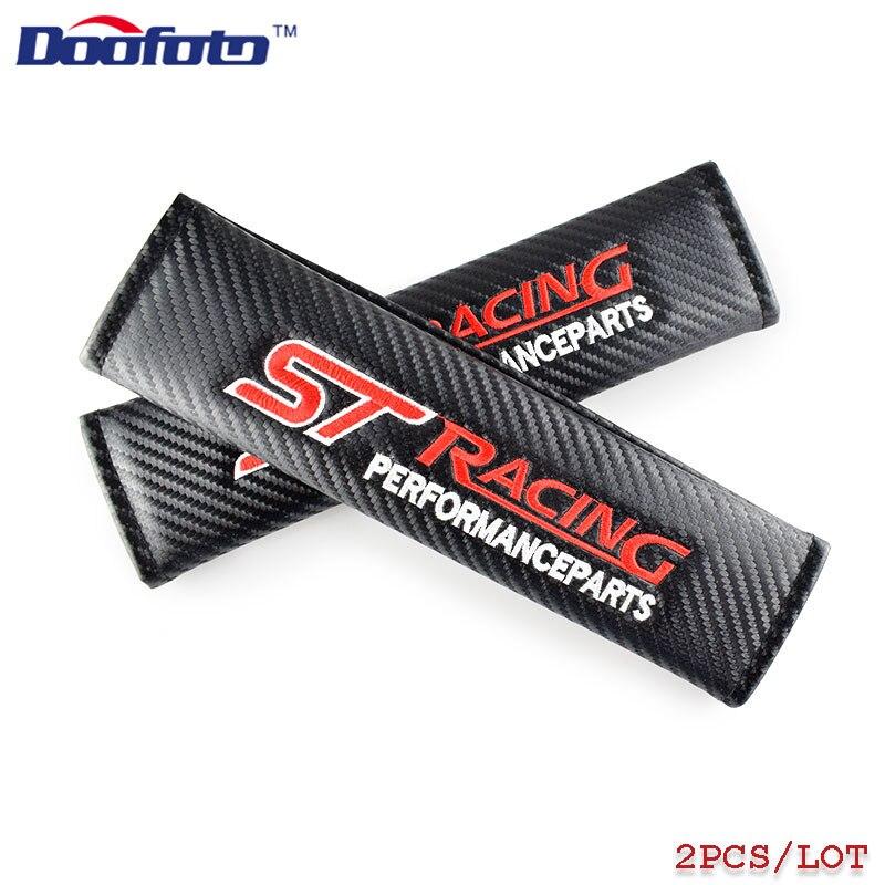 Doofoto автомобильный Стайлинг чехол для Ford ST Racing Fiesta Focus 2 3 Kuga Mondeo Mustang авто значок для крышки аксессуары автостайлинг 2 шт.