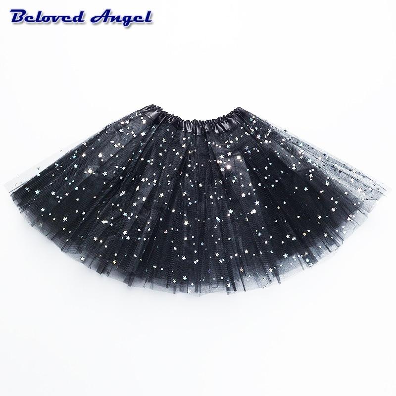 Детская прозрачная Пышная юбка пачка, на возраст 2 8 лет Юбки    АлиЭкспресс