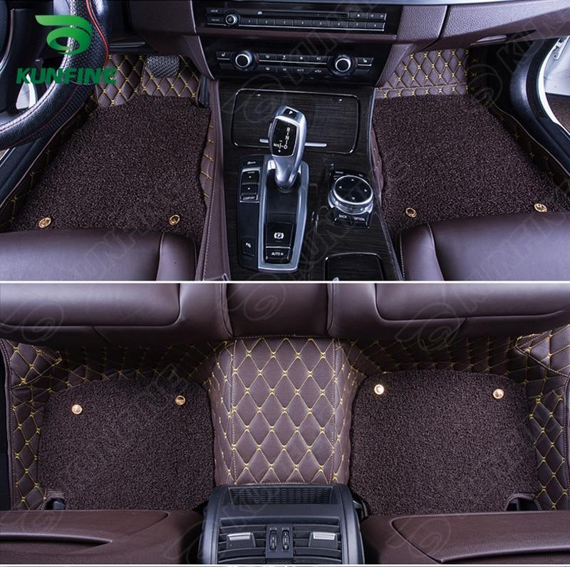 3d tapete de assoalho do carro para buick park avenue pé esteira do carro almofada com uma camada termosol bobina almofada mão esquerda motorista carro estilo