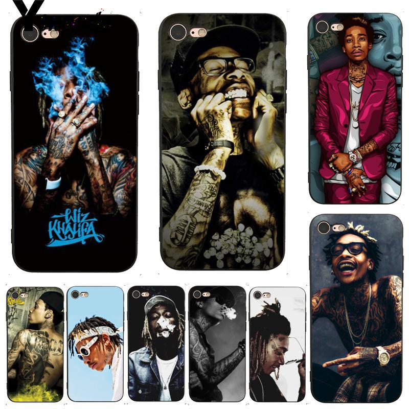 Yinuoda raper Wiz Khalifa lepsze etui na telefon iPhone 7 6 X etui 6S 6plus 7 7plus 8 8Plus X XS XR 11 11pro 11promax