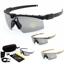 Polarized Tactical Goggles Men Outdoor Sunglasses Military Airsoft War Game Glasses Hunting Camping