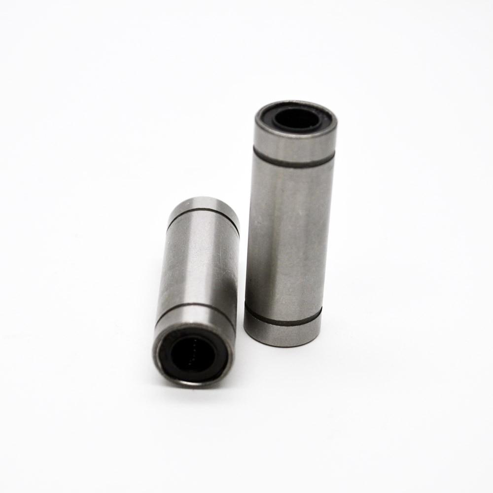 3d printer bearing LM25LUU bearing 25 mm linear ball bearing bush bushing match use 25mm linear guide rod round shaft cnc